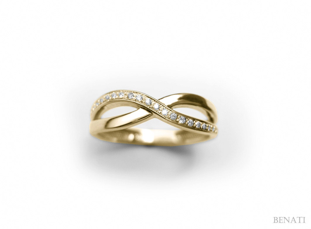Gallery For Gt Infinity Rings Gold