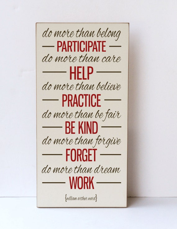 Items Similar To Inspirational Quote Wood Sign