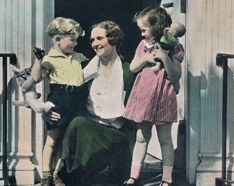 Heart of the Home Hand Tinted Photo Print