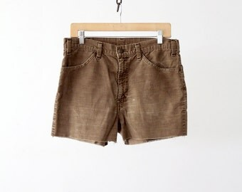 Levi's corduroy shorts, cord cutoffs