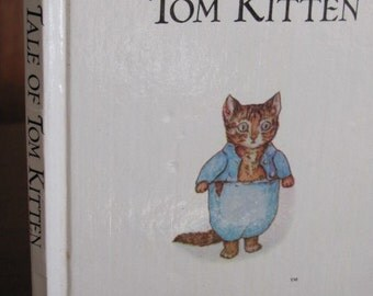 "Vintage Beatrix Potter's ""Tale of Tom Kitten"" Children's Book - 1986 Edition - Picture Book"