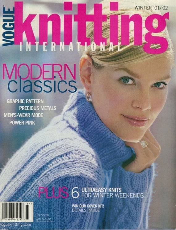 Knitting Magazines List : Vintage knitting magazine vogue by atomicholiday