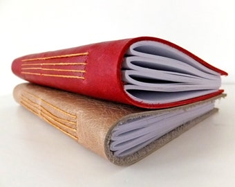 Leather journal, Travel journal, Leather Notebook, Eco-friendly Leather Sketchbook, Blank Journal, Red Journal, Coffee Journal