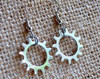 Steampunk Gears . Earrings