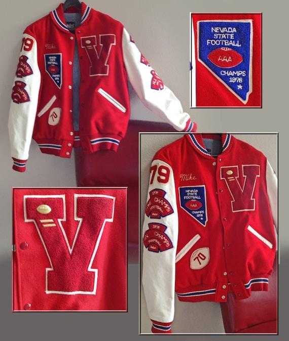 School Letterman Jacket