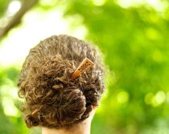 "Hair Stick - Celtic Design - 7"""
