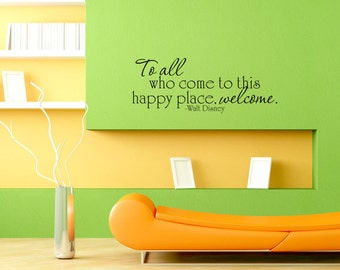 Art Wall Decal Wall Stickers Vinyl Decal Quote - To all ...