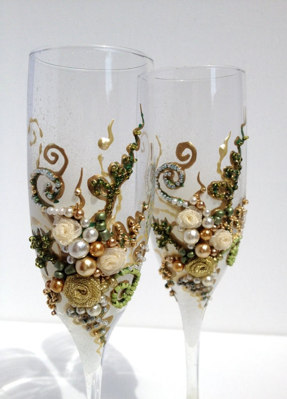 items similar to wonderful hand decorated wedding