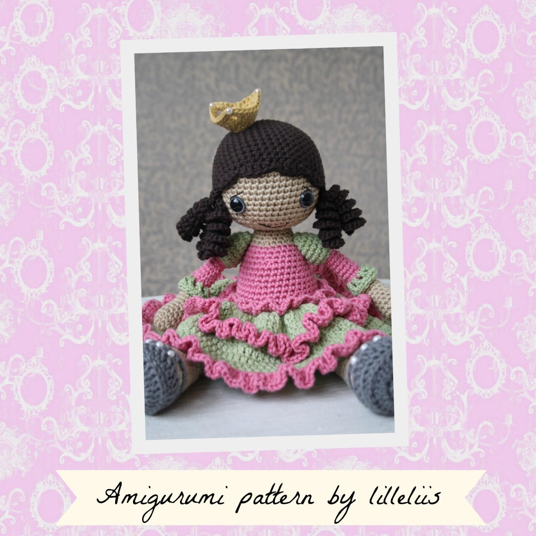 Amigurumi Shoe Tutorial : PATTERN Princess Silver-shoe crochet pattern amigurumi
