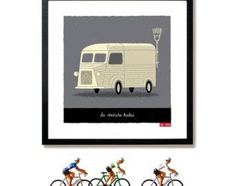 Tour de France Art, Broom Wagon