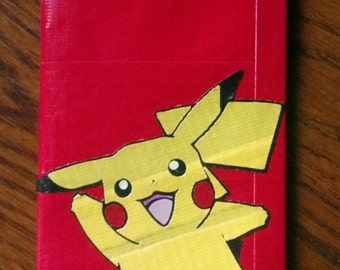 Pikachu Duct Tape Women's Wallet