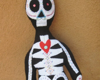 Day of The Dead Skeleton Doll
