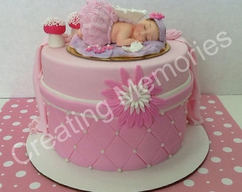 Edible Cake Decorations Fairies : Popular items for fairy cake topper on Etsy