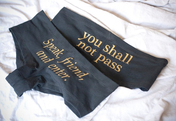 2 Pairs of LOTR Undies