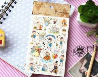Pinocchio Korea Sticker