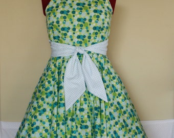 Hot Fudge Sundae 1950s Swing Dress -  Custom made