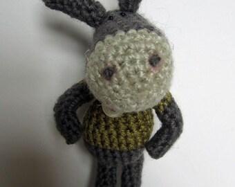 Crochet Pattern for Dominic Donkey