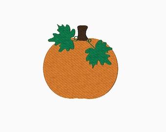 Pumpkin embroidery design INSTANT DOWNLOAD