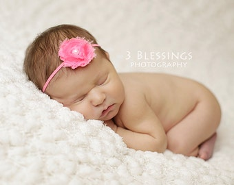 You Pick 1 Mini Shabby Baby Headband Set - Baby Hair Accessories - Baby Shower Gift - Baby Girl Headbands - Infant Headband - Hair Bows