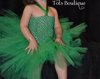 Kelly Green Tutu Dress- Toddler