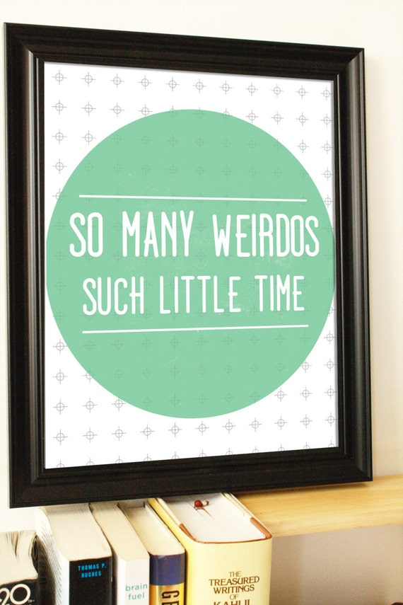 Dorm Room Wall Decor Etsy : Funny quote prints sarcastic wall art dorm posters by