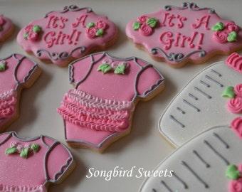 Baby Girl Cookie Collection (1 dozen)