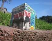 The Beatles Magazine Wallet / Upcycled Billfold / Psychedelic / Music Ledgends / Card Holder / Eco Friendly Accessory