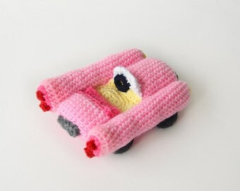 Cabrio Car Crochet Pattern, Cabriolet Car Crochet Pattern, Sports Car Crochet Pattern, Crochet Sports Car Pattern Crochet Cabrio Car Pattern