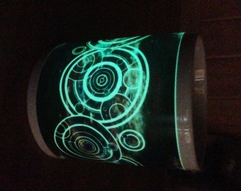 The Doctor's Name in Gallifreyan Glow in the Dark Mug