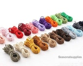 Rubber Bands Elastic Cord,2.5mm Wide, 22 Colors Stretch Rope Handmade Supply DIY Supply -- 2 yards (T82)