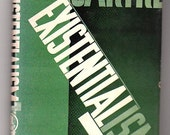 Existentialism by Jean Paul Sartre -- 1947 Edition, HC/DJ -- Philosophy