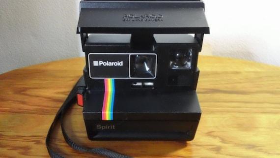 vintage 1980 39 s polaroid spirit 600 instant film land. Black Bedroom Furniture Sets. Home Design Ideas