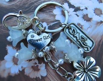 Flower Girl Gift Charm