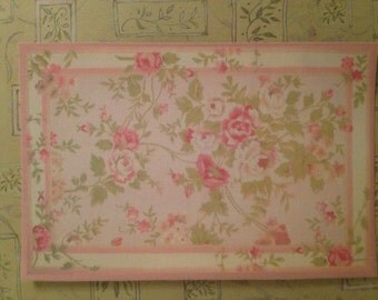 Pink Shabby Chic Rug