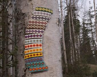 Large Native American Beaded Barrette