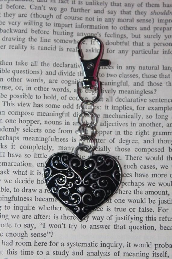 Pretty Heart Keychain