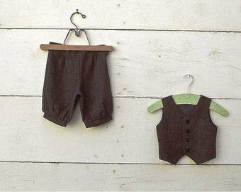 Baby  Size  Vintage Charcoal Grey knickers boys pants