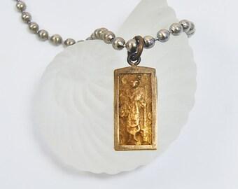 Amulet Necklace | Yoga Jewelry | Unisex | Buddhist Charm