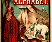 NOAH'S ARK Alphabet Kids Learning eBook Animal Pictures Alphabet Letters Bible Stories