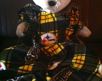 """Pittsburgh Steelers Football Fleece Sports Baby Blanket (30X36"""")"""