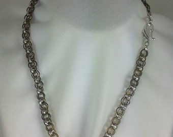No 1 Chainmaile necklace