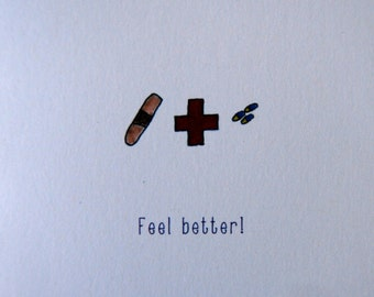 Watercolor get well cards