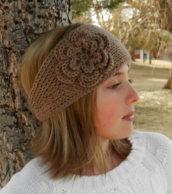 Tunisian Knit Stitch Headband Pattern : Tunisian Knit-Look Crochet Headband Pattern with