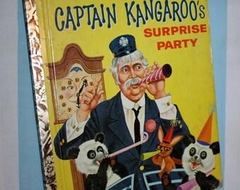 Captain Kangaroo's Surprise Party, 1958 Little Golden Book