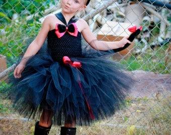 Black Cat Tutu Dress Costume, Girls Cat Costume
