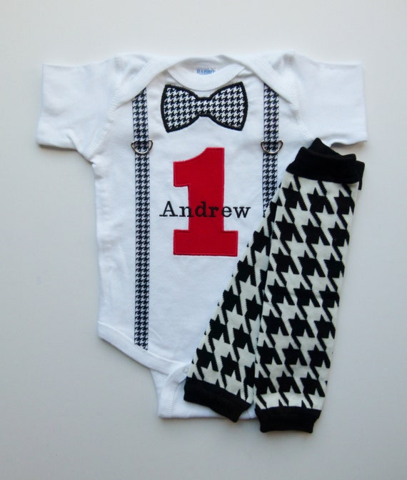 Items Similar To First Birthday Outfit Suspenders