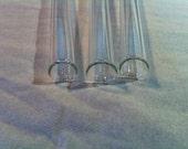 "Glass 4"" Test Tubes (12)"