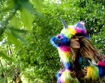 Rainbow Unicorn - KIDS SIZE!!