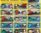 BowTies Made From Marvel Comics Fabric - Take Your Pick From 22 Great Looking SEWN-BY-HAND Hero Bow Ties - 1.49 Shipping