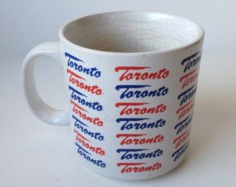 Vintage Toronto Mug - Retro Canada Coffee Cup